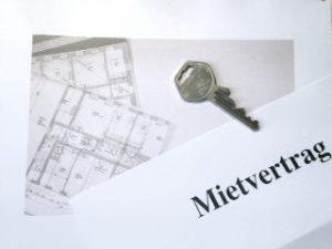 Mietvertrag, Schlüssel, Schlüsselübergabe, Grundriss