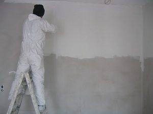Maler, Malen, Wand, Wandfarbe