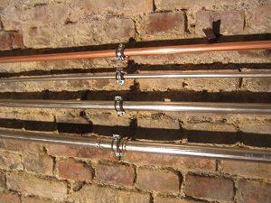 Wasserleitungen, Leitungen, Kupferleitungen, Kunststoffleitungen