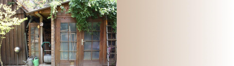 Gartenhaus Slider