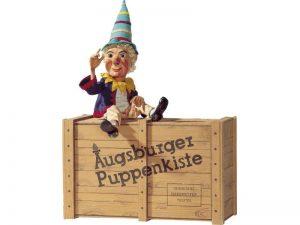 Augsburger Puppenkiste, Augsburg, Kasperle, Marionetten, Theater, Holzkiste, Puppen