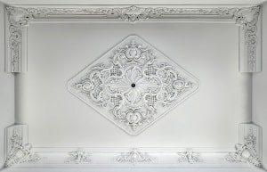 Decke, Wand, weiß, Design