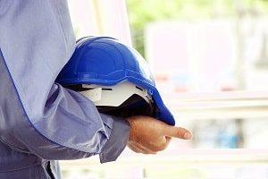 Sicherheit, Hintergrund, blau, Bauherr