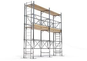 dreidimensional, bauen, Hausbau, Konstruktion