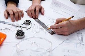 Ingenieur, Grundriss, Plan, Zeichnung