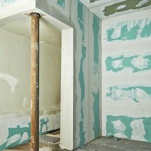 gipskartonwand einfacher und schneller aufbau der w nde. Black Bedroom Furniture Sets. Home Design Ideas