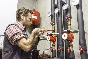 Installateur, Klempner, Rohrleitung, Pumpe
