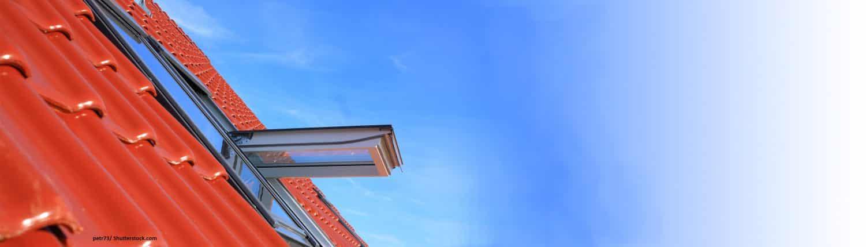 Dach, Dachziegel, Fenster, Architektur