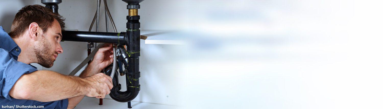 Klempner, Rohrleitung, verstopft, Konstruktion