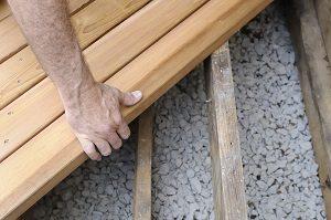 Holz, Terasse, Latte, arbeiten