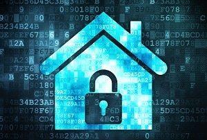 Alarm, sicher, digital, System