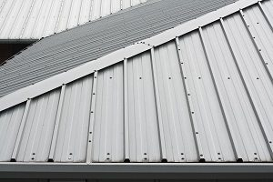 Dach, Überdachung, Metall, Gebäude
