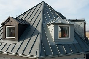 Dach, Metall, Haus, Glas