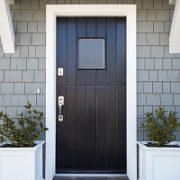 Tür, Front, Vorderseite, Hausfassade