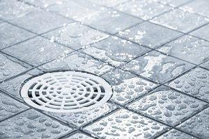 Boden, Wasser, Fliesen, Kanalisation