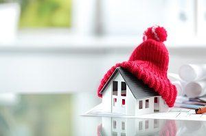 Haus, Hitze, Wärme, kalt