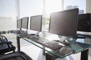 Rechner, PC, Verbindung, Tastatur