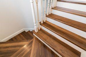 Holz, Treppe, Geländer, Stufen