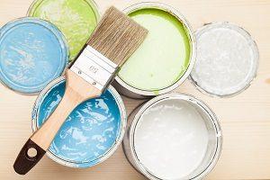 Tipp zum Bau berät zum richtigen Typ der Innenfarbe.
