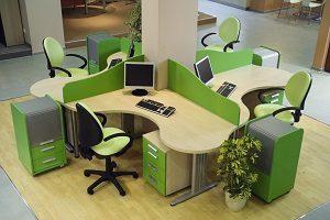Wie Sie mit Büromöbeln ein Großraumbüro gestalten, erfahren Sie bei Tipp-zum-Bau.
