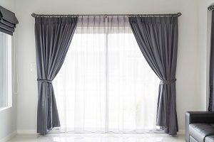 Gardine, Fenster, Zimmer, Raum