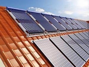 Heizgerät, Photovoltaik, Solar, System