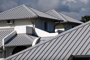 Dach, Metall, Haus, Architektur