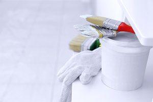 Farbe, Maler, Werkzeug, Eimer