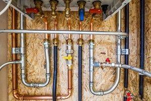Installation, Rohr, Energie, Kupfer