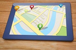 Suche, Maps