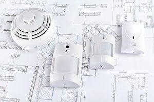 System, Sicherheit, Brand, Sensor