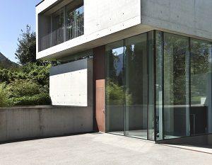 modern, Architektur, hell, Haus