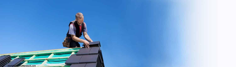Dach, Hausdach, Dachdecker, Überdachen