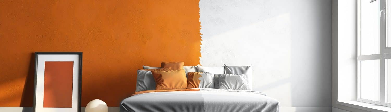Die richtigen Farben lassen Ihr Schlafzimmer strahlen. Lassen Sie sich von Tipp zum Bau inspirieren.