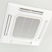 Luft, verteilen, Gerät, abkühlen, Klimaanlage