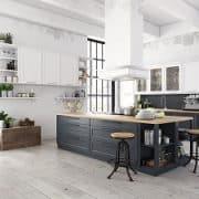 Welche Küchenarten es neben der offenen Wohnküche auch gibt, erfahren Sie bei Tipp zum Bau.
