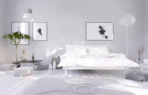 Tipp zum Bau empfiehlt einen möglichst geräuschlosen Luftentfeuchter für das Schlafzimmer.