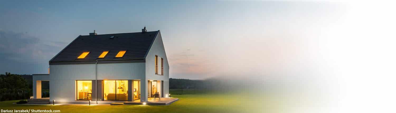 Modern, einfach, Eigenheim