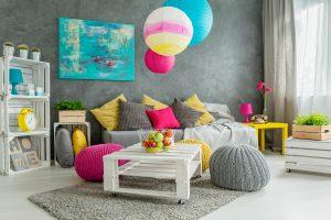 Tipp zum Bau zeigt Ihnen kreative Einrichtungsideen mit Innenfarbe.