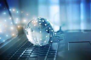 Internet, Laptop, Welt, Vernetzt