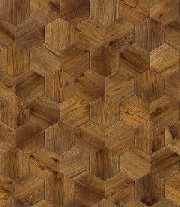 Zu den verschiedenen Holzfußboden-Arten gehört auch das Mosaikparkett.