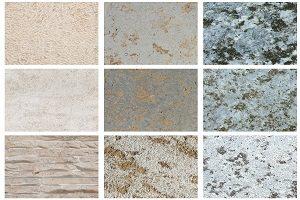 Natursteinfassaden gibt es in zahlreichen Variantionen.