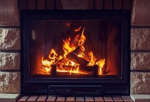 Kaminofen, Ofen, Feuer