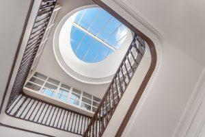 Ein Flachdach ermöglicht extravagante Flachdachfenster.