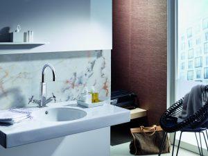 Alles Wissenswerte zum Zweihebelmischer für eine Waschbeckenarmatur erfahren Sie bei Tipp-zum-Bau.