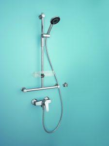 Duscharmatur mit Aufputzarmatur bei Tipp zum Bau