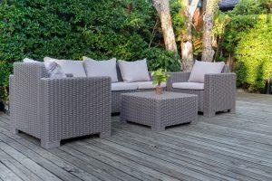Mit Sets sparen Sie Gelb beim Kauf von Gartenmöbel. Tipp zum Bau informiert Sie über alle Vorteile.