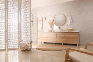 Tipp zum Bau informiert Sie über Badtrennwände.