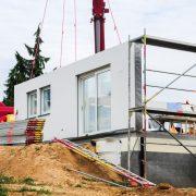 Fertighaus im Bauprozess mit Tipp zum Bau