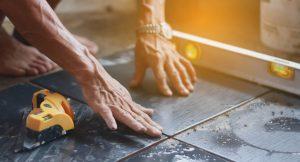 Tipp zum Bau zeigt wie Sie Zementmörtel im Bad verwenden.